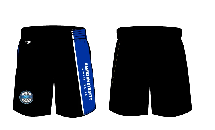 Hamilton Dynasty Swim Club Custom Men's Gyms Shorts