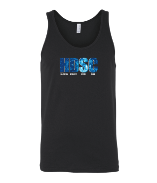 Hamilton Dynasty Swim Club Custom Black Unisex Jersey Tank