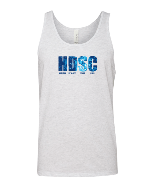 Hamilton Dynasty Swim Club Custom White Unisex Jersey Tank