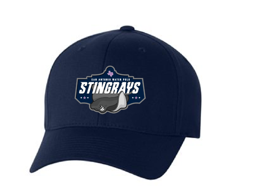 San Antonio Stingrays Water Polo Club Navy Flexfit Hat *DEADLINE TO PURCHASE IS MAY 31ST*