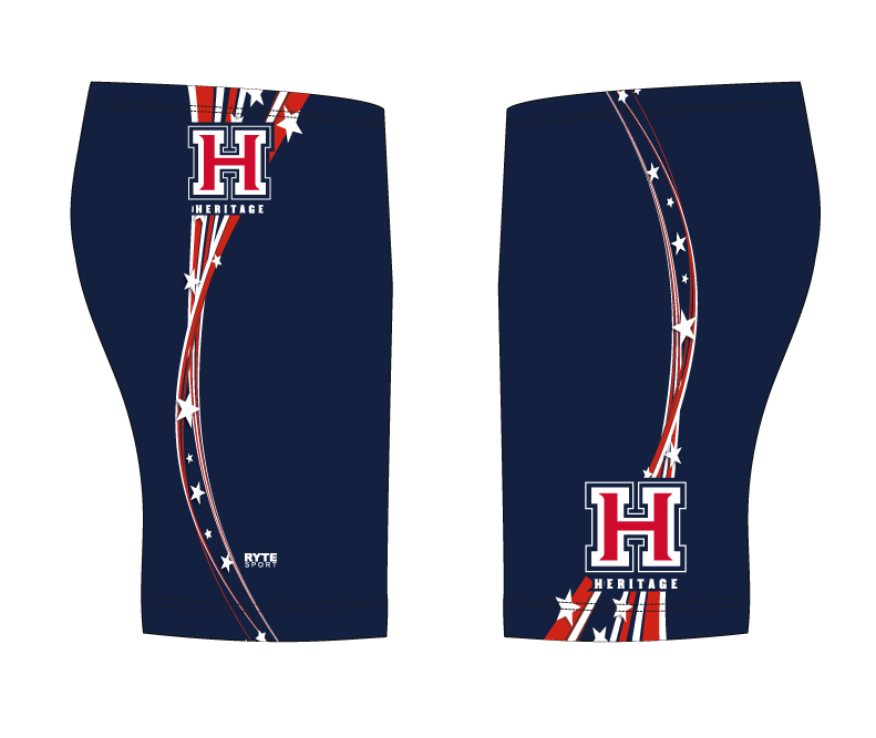 Heritage High School Custom Swim Jammer