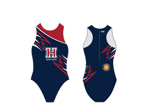 Heritage High School Water Polo Custom Women's Water Polo Suit - Personalized