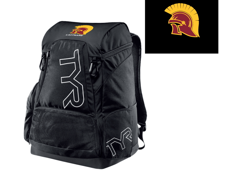 Hillcrest High School Water Polo 2020 Custom TYR Alliance Backpack 45L - Personalized *CLOSE DATE TO PURCHASE IS 10/23*