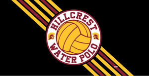 Hillcrest High School Water Polo 2020 Custom Towel - Personalized