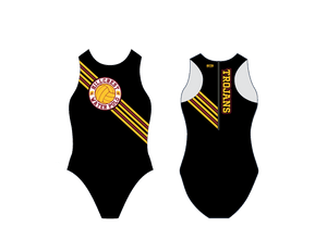 Hillcrest High School Water Polo 2020 Custom Women's Water Polo Suit - Personalized