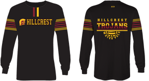 Hillcrest High School Water Polo 2019 Custom  Dry Fit Jersey - Personalized