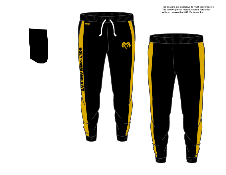 Holt Swim and Dive Team Adult Unisex Jogger Sweatpants