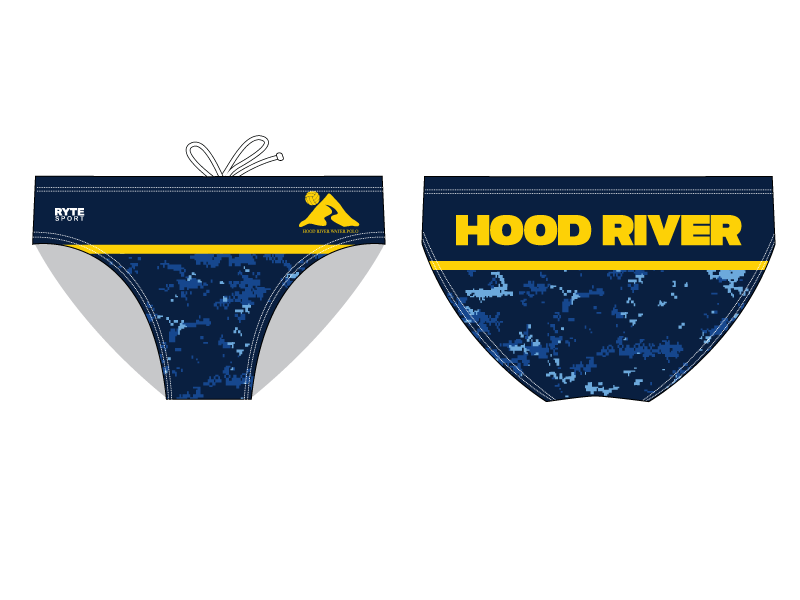 Hood River Water Polo Custom Men's Swim Brief