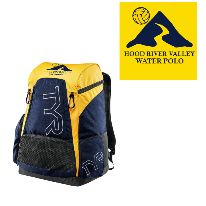 Hood River Water Polo TYR Alliance Backpack - Personalized