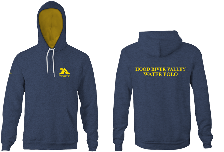 Hood River Water Polo Heathered Unisex Adult Hooded Sweatshirt