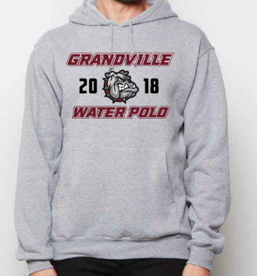 Grandville High School Water Polo Unisex Hooded Sweatshirt