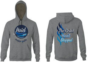 Hotel Team Name Vintage Heathered Unisex Adult Hooded Sweatshirt 2019