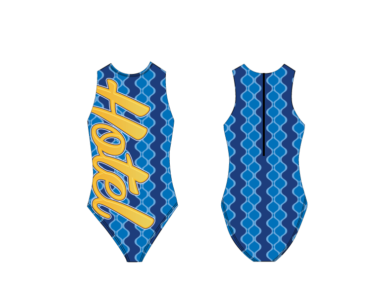 Hotel Women's Water Polo Suit