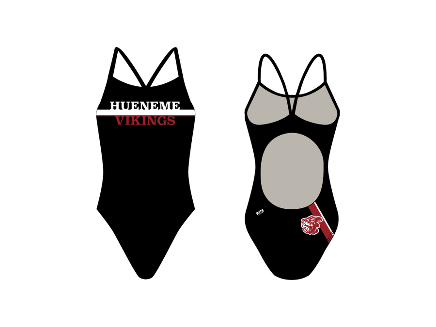 Hueneme High School 2019 Swim Team Women's Active Back Thin Strap Swimsuit