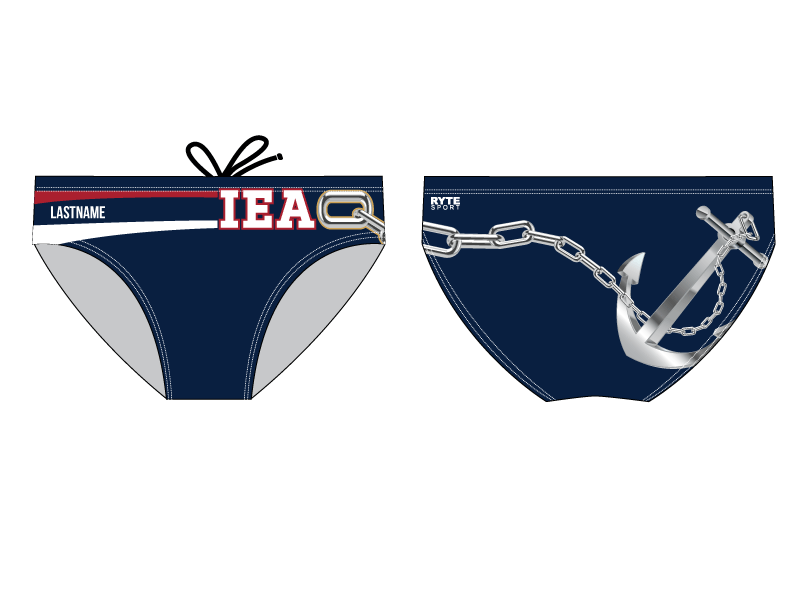 IEAQ Swim 2019 Custom Men's Swim Brief