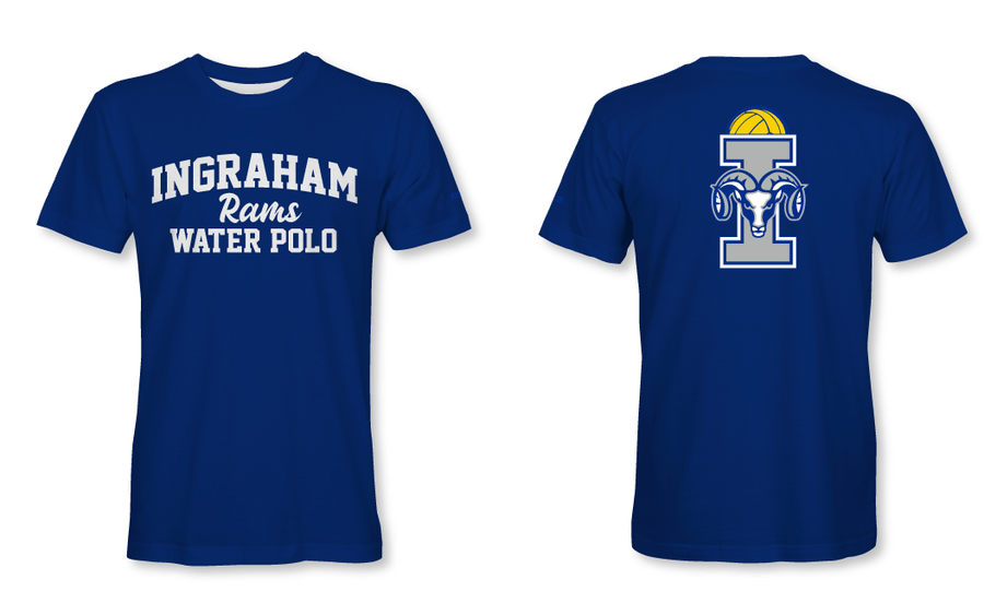 Ingraham High School Water Polo 2019 Custom Men's T-Shirt