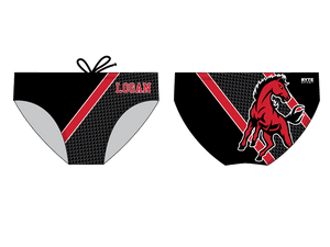 James Logan High School Water Polo 2019 Custom Men's Water Polo Brief - Personalized