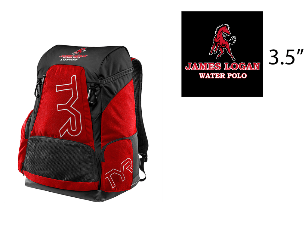 James Logan High School Custom TYR Alliance Backpack - Personalized *CLOSE DATE TO PURCHASE IS 8/25*