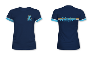 Lakeridge High School Water Polo 2019 Women's Fitted Crew Neck T-Shirt