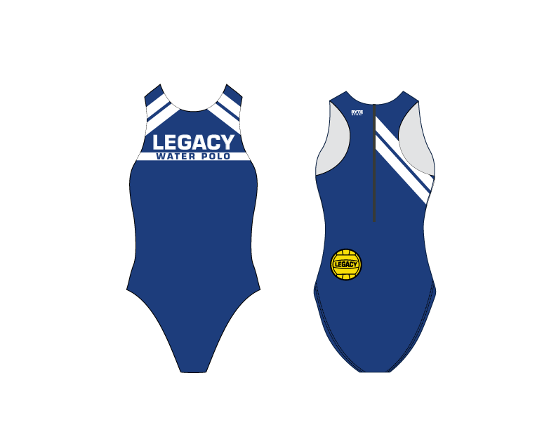 Legacy Water Polo Custom Women's Water Polo Suit