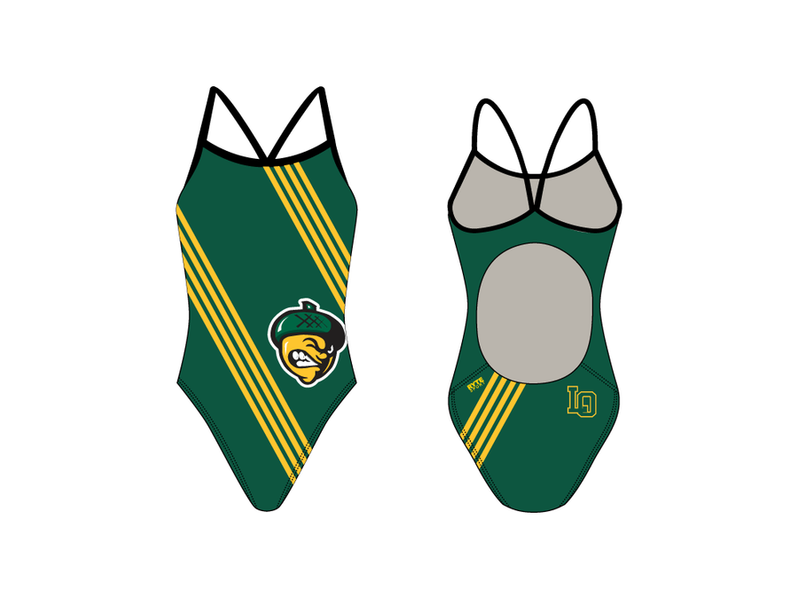 Live Oak High School Swim Team 2019 Active Back Thin Strap Swimsuit
