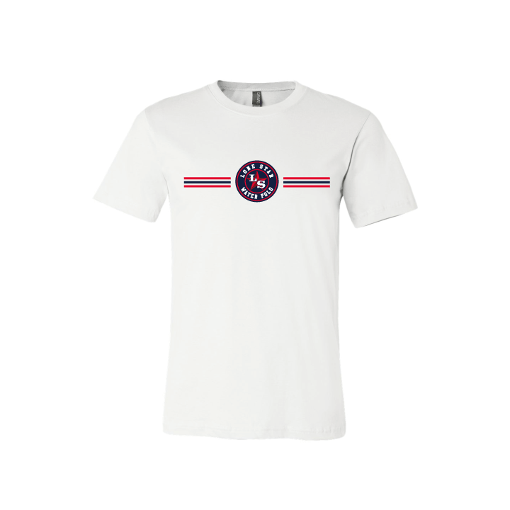 Lone Star Water Polo Club Custom White Cotton Unisex T-Shirt