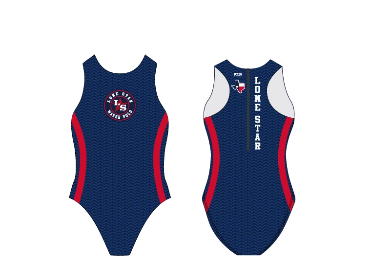 Lone Star Water Polo Club Custom Women's Water Polo Suit