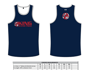 Martin Luther King High School Water Polo 2019 Custom Men's Tank Top