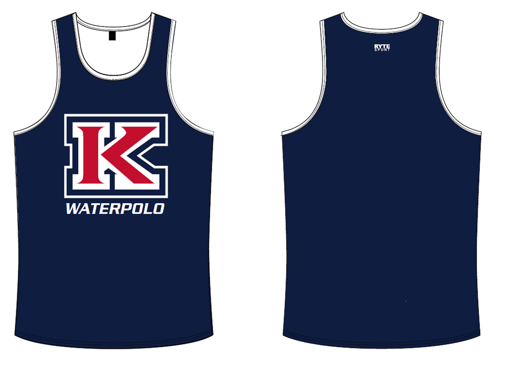 MLK Water Polo Custom Men's Tank Top