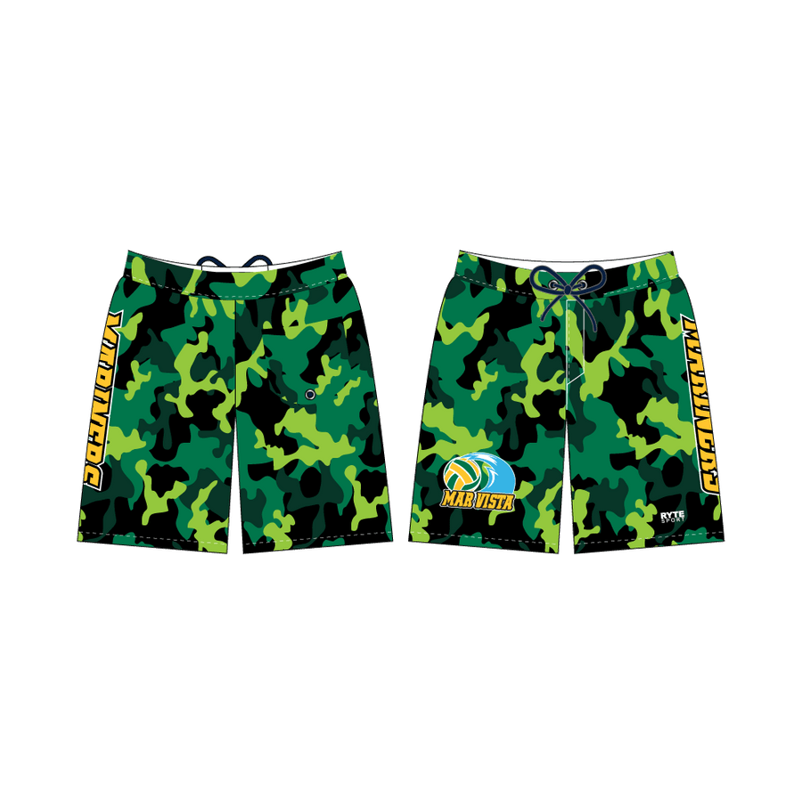 Mar Vista High School Water Polo 2019 Custom Men's Boardshort