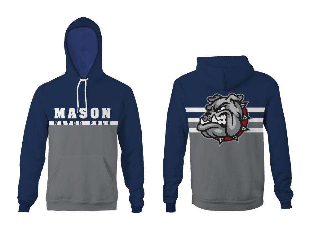 Mason Water Polo 2019 Unisex Vintage Heathered Hooded Sweatshirt