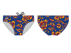 Waverly-Mason Co Op Team 2019 Custom Men's Water Polo Brief