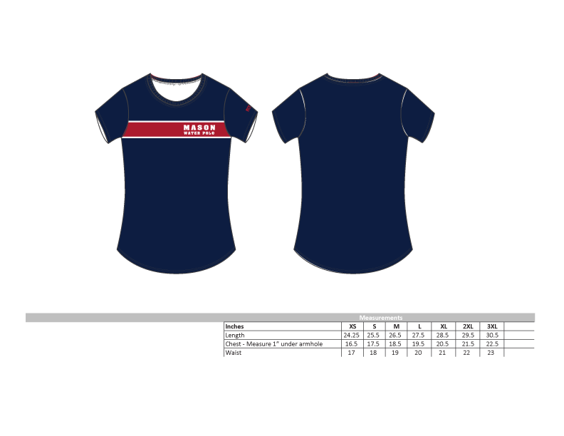 Mason Water Polo Women's Tee 2019