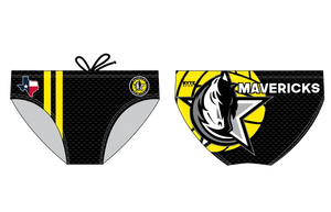 Mavericks Water Polo Club Custom Men's Water Polo Brief