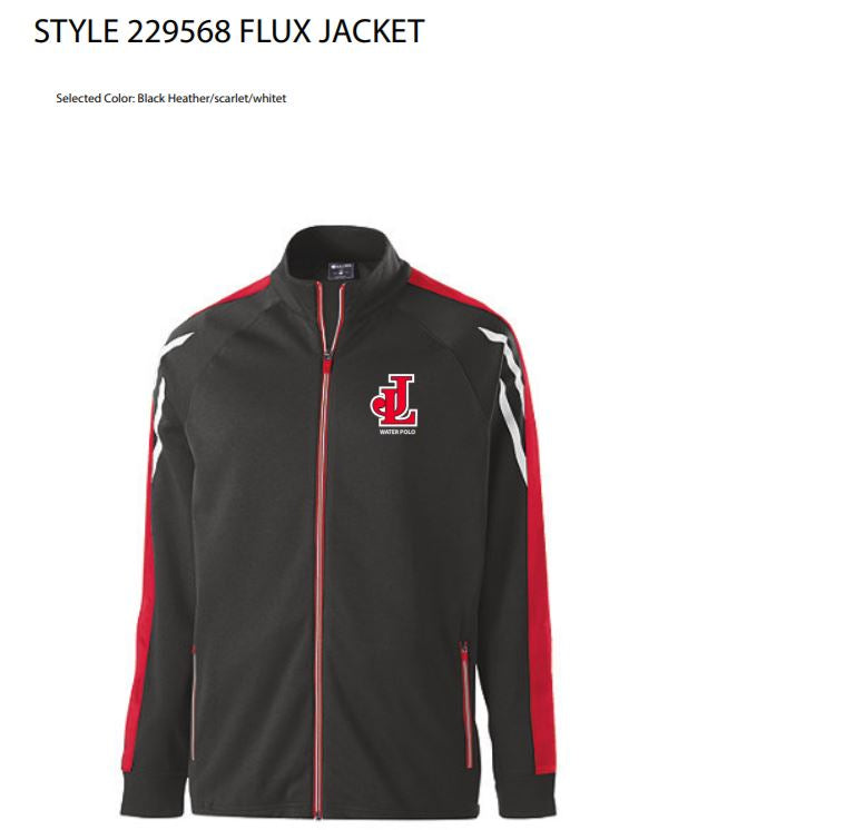 James Logan High School Men's Flux Zip Up Jacket