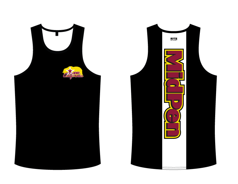 MidPen Water Polo Club Custom Men's Tank Top