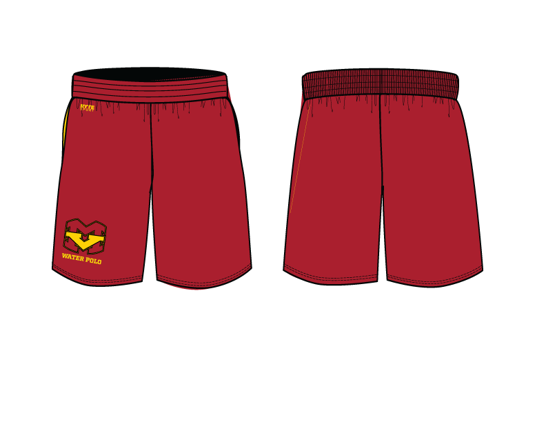 Mission Viejo High School Water Polo 2019 Custom Men's Gym Short