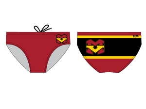Mission Viejo High School Water Polo 2019 Custom Men's Water Polo Brief - Personalized