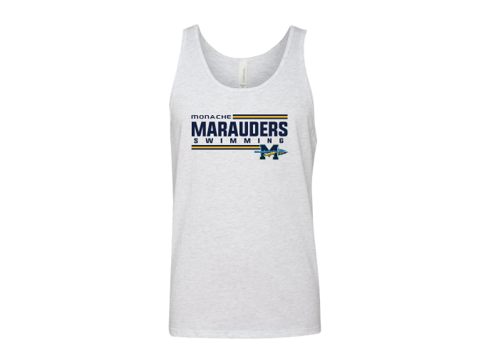 Monache Valley High School Swim 2020 Custom Unisex Jersey Tank