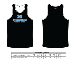 Monache High School Water Polo 2019 Custom Men's Tank Top - Personalized