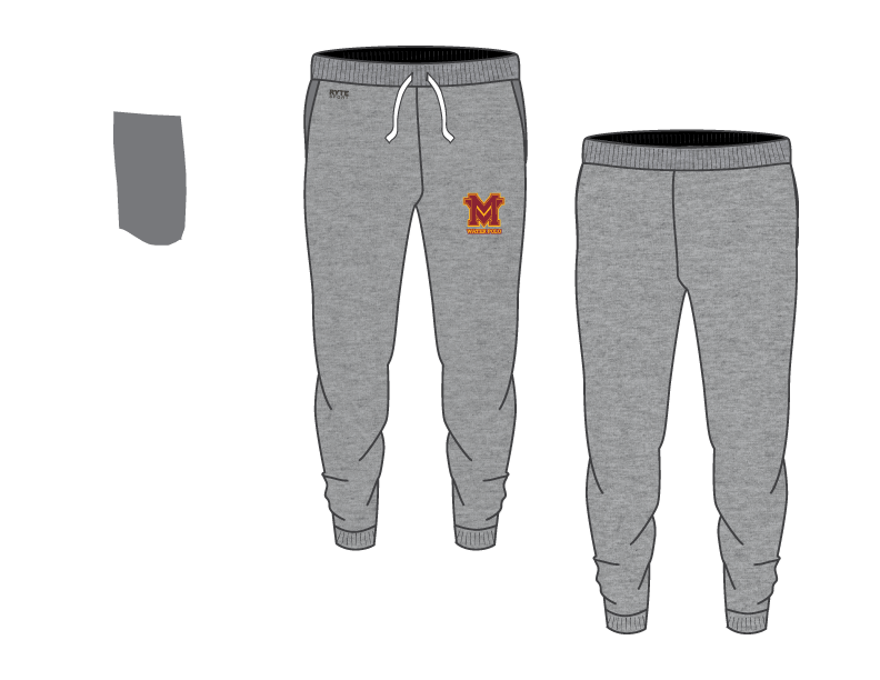 Monte Vista (SD) High School Water Polo 2019 Adult Unisex Heathered Jogger Sweatpants