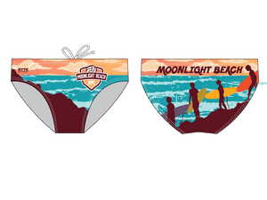 Moonlight Beach Water Polo Club Custom Men's Brief