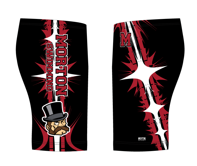 Hammond Morton High School Swim 2019 Custom Men's Jammer