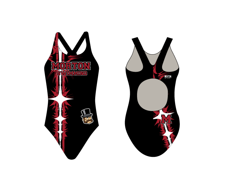 Hammond Morton High School Swim 2019 Custom Thick Strap Women's Swim Suit