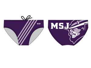 Mount Saint Joseph Water Polo Custom Men's Water Polo Brief - Personalized