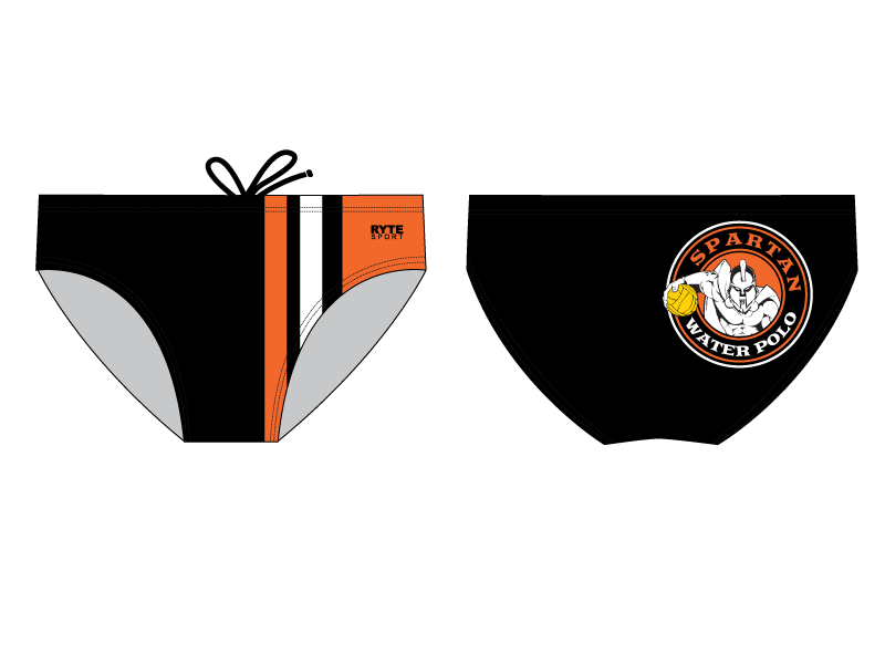 Spartan Water Polo Club Water Polo Brief