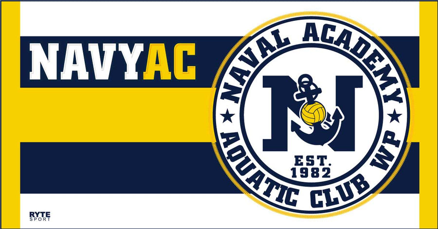 Naval Academy Aquatics Club Custom Towel
