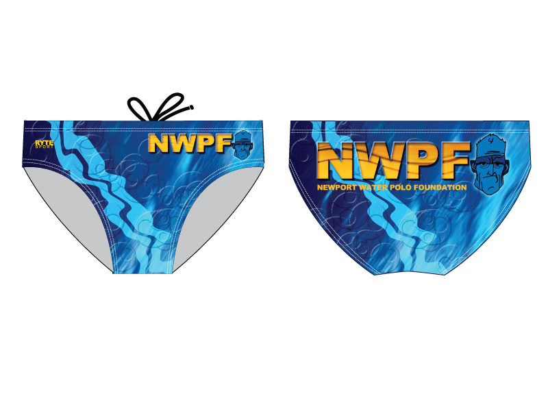 Newport Water Polo Foundation 2011 Custom Men's Water Polo Brief
