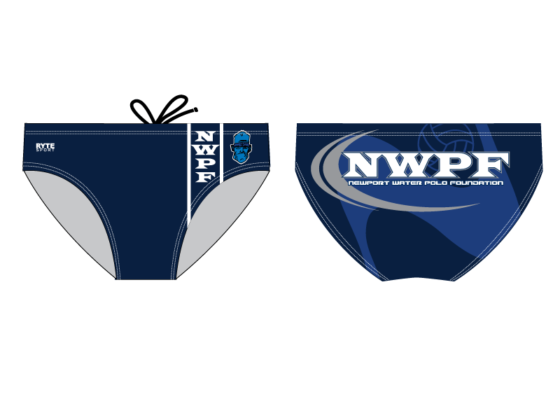 Newport Water Polo Foundation 2012 Custom Men's Water Polo Brief