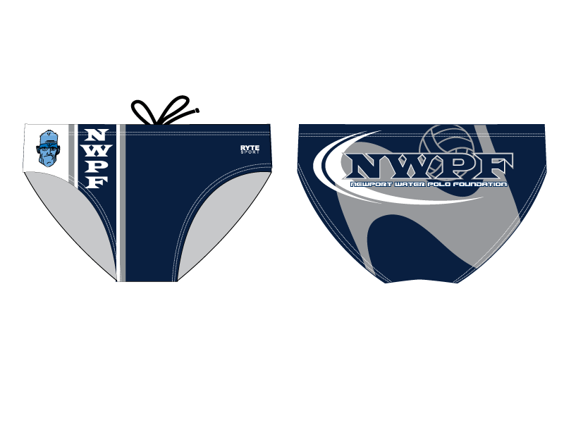 Newport Water Polo Foundation 2013 Custom Men's Water Polo Brief